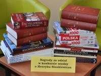 Lista osób nagrodzonych w czytelniczo – prasowym konkursie wiedzy o Henryku Sienkiewiczu
