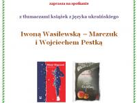 Spotkanie z Iwoną Wasilewską – Marczuk i Wojciechem Pestką