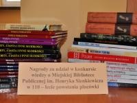 Konkurs wiedzy o Bibliotece rozstrzygnięty
